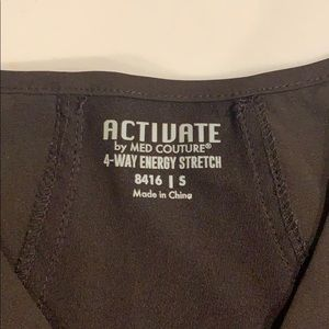 Med Couture Other - Activate by Med Couture Scrub Top